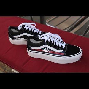 Vans Shoes | Kappa Custom Shoes | Poshmark